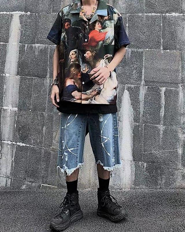 ミラクルザビエル半袖シャツの画像8